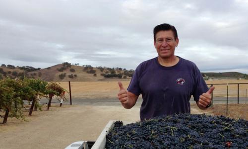 Winemaker Pedro Vargas